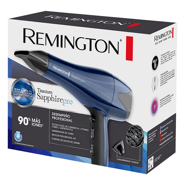 Fotografía de Secador Remington Sapphire con Titanio 02