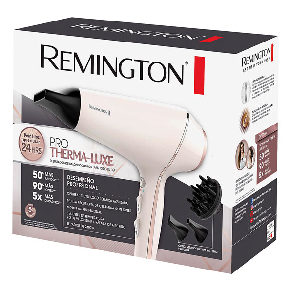 Fotografía de Secador Remington ProThermaLuxe 02