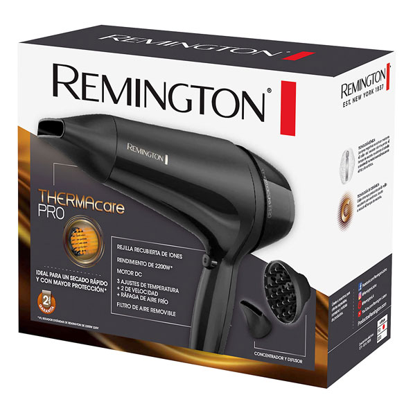 Fotografía de Secador Remington Thermacare 02