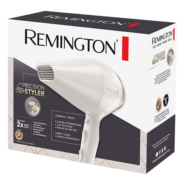 Fotografía de Secador Remington Precision Styler 02