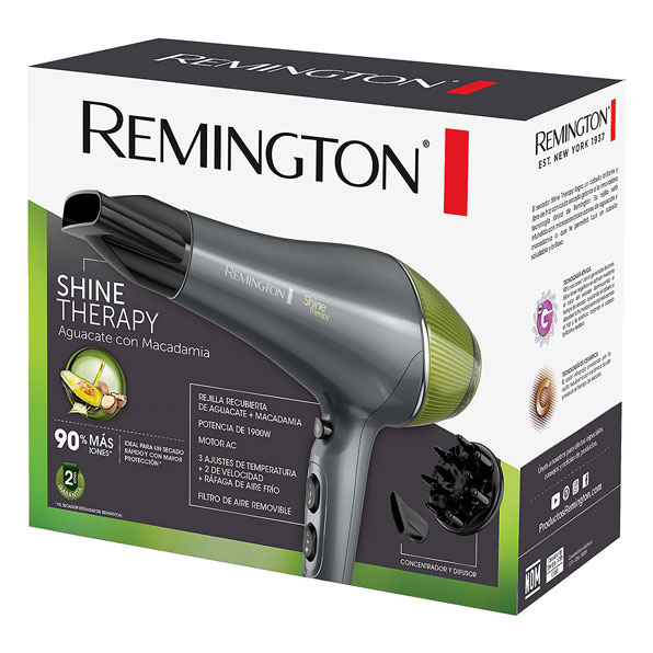Fotografía de Secador Remington Shine Therapy 02