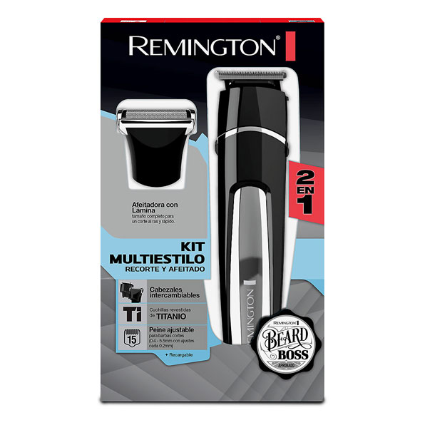 Fotografía de Recortador De Barba Remington Kit Multiestilo 02