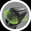Icono de Afeitadoras de Láminas con tecnología de Hojillas flexibles