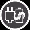 Icono de Afeitadoras de Láminas de uso Con cable o sin Cable