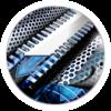 Icono de Afeitadoras de Láminas con tecnología Intercept Shaving