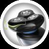 Icono de Afeitadoras Rotativas con tecnología Active contour