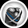Icono de Afeitadoras Rotativas con tecnología Power Flex