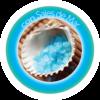 Icono de Plancha alisadora con Tecnología de Sales de Mar