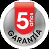 Icono de Plancha alisadora con 5 años de garantía