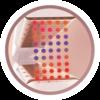 Icono de Plancha alisadora con Tecnología de OPTIHeat