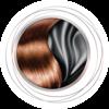 Icono de Plancha alisadora con Tecnología de Seda