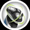 Icono de Afeitadoras Rotativas con tecnología HyperFlex