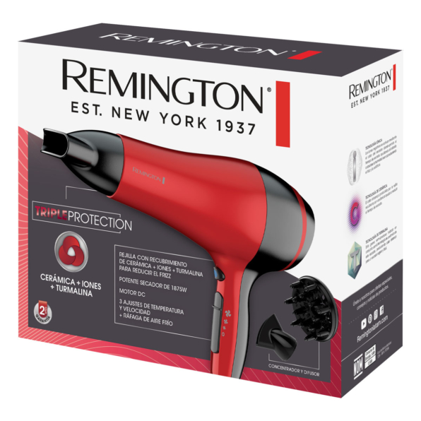 Fotografía de Secador Remington Triple Protection 02
