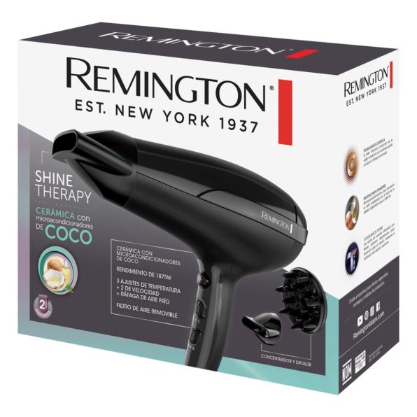 Fotografía de Secador Remington Shine Therapy 02